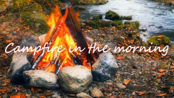 【VR】Campfire in the morning 〜焚き火〜 | 動画視聴 | 360Channel | VR動画配信サービス